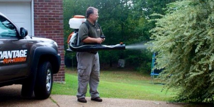 spraying for mosquitoes in Madison MS